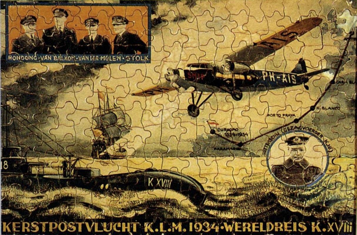 K-XVIII puzzel
